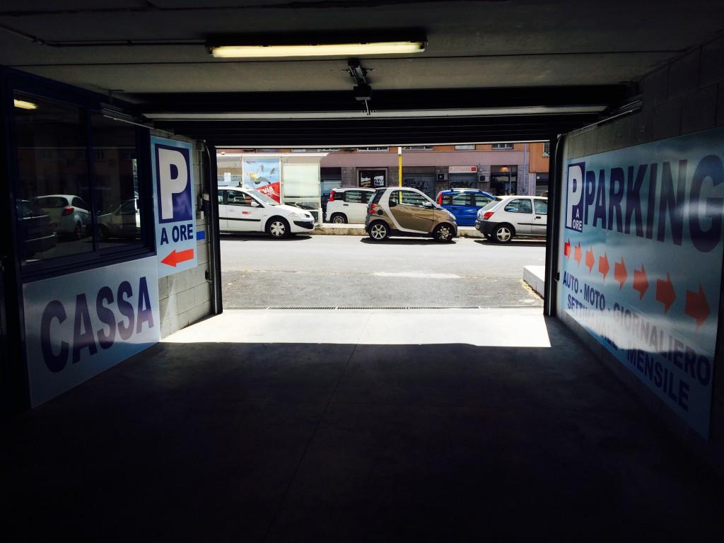Ponte testaccio parking consorzio park in - Porta portese milano ...